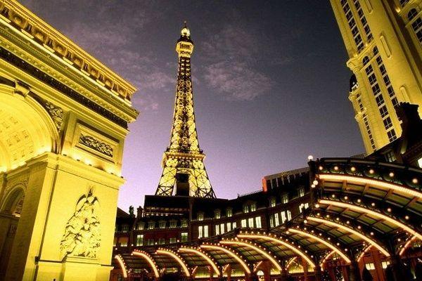 La tour Eiffel à Las Vegas !