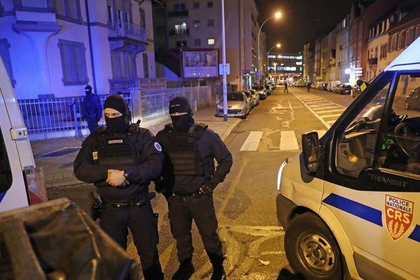 La rue du Lazaret à Strasbourg Neudorf où a été abattu Cherif Chekatt, jeudi 13 décembre / © MaxPPP. Jean-Marc LOOS