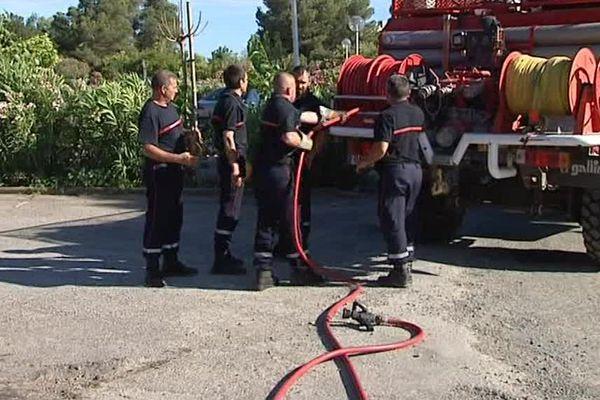 Intervention pompiers Illustration