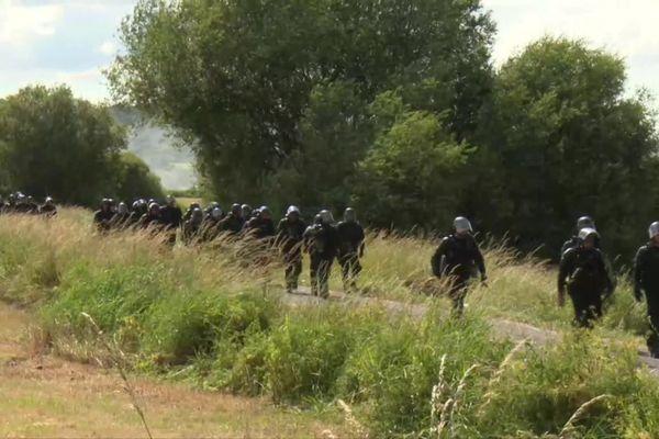 Plus de 400 gendarmes ont été mobilisés.