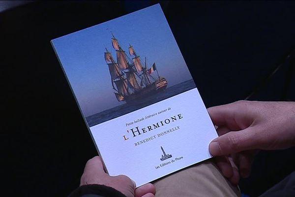 Benedict Donnelly, ancien président de l'association Hermione-La Fayette, vient de publier un livre regroupant les grands classiques maritimes qui l'ont porté durant ce projet.