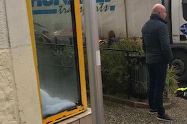 C'est dans le centre de Varades que s'est produit l'accident entre le camion et la jeune collégienne.