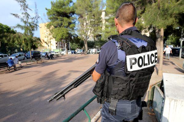 """La drogue a été saisie """"en plusieurs morceaux dans différentes caches"""", notamment au quartier de l'Ariane à Nice - Photo d'archives du quartier"""