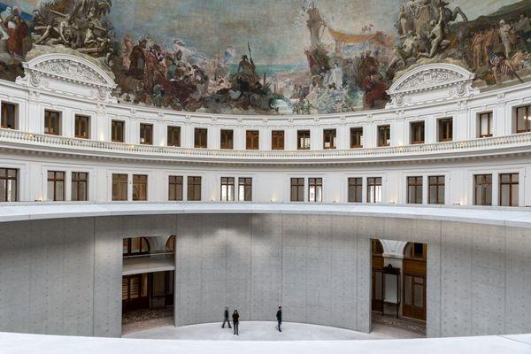 Bourse de Commerce — Pinault Collection © Tadao Ando Architect & Associates, Niney et Marca Architectes, Agence Pierre-Antoine Gatier