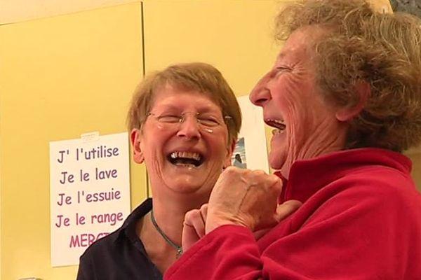 Rire pour se sentir mieux c'est le principe de ces ateliers du rire.