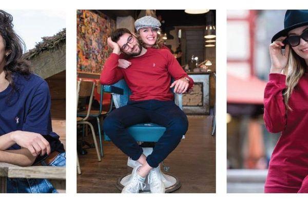Les vêtements Polytesse, conçus à Beaune, sont fabriqués en France avec des fibres à base de bouteilles plastiques et de chutes de tissus sauvées de l'enfouissement et de l'incinération.