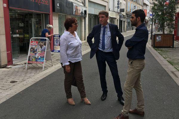 Martine Pinville est la première candidate à se présenter à la mairie d'Angoulême pour les prochaines élections municipales.