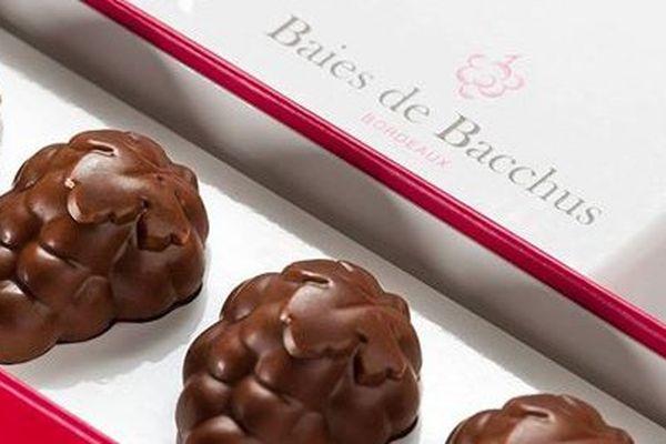 Les © Baies de Bacchus inventées par Frédéric Donnadieu, réalisées avec la complicité de Luc Dorin à Bordeaux