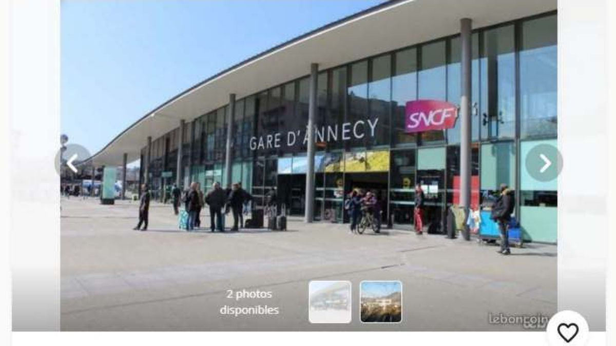 La Gare D Annecy En Vente Sur Le Bon Coin