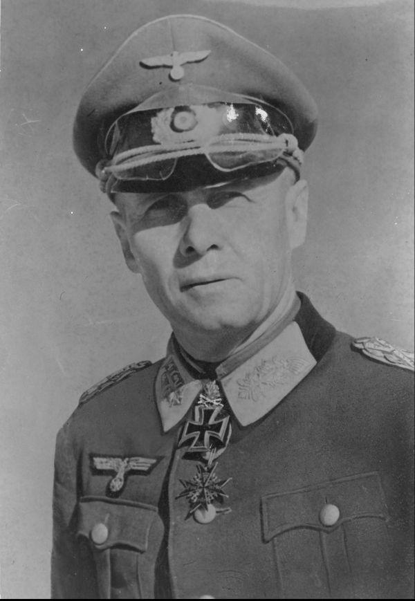 Le général allemand Erwin Rommel