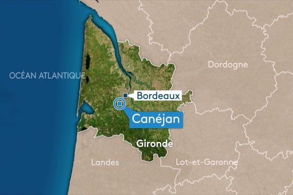 L'accident s'est produit sur l'A63 à hauteur de Canéjan.