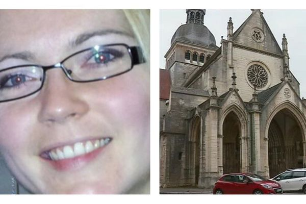 Les obsèques d'Alexia Daval s'étaient déroulées dans la basilique de Gray