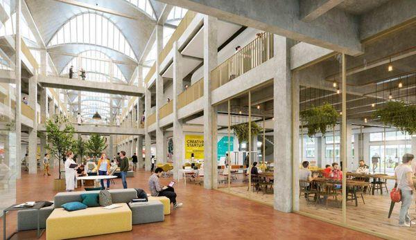 Le projet tel qu'imaginé par les architectes pour le futur occupant