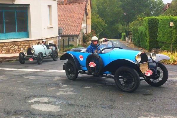 42 Bugatti Brescia en Dordogne du 9 au 13 septembre 2019