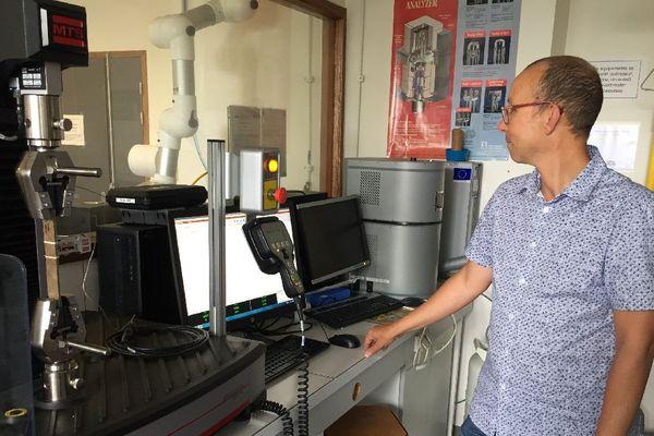 Alain Bourmaud, ingénieur de Recherche à l'Université de Bretagne Sud et coordinateur du projet FLOWER
