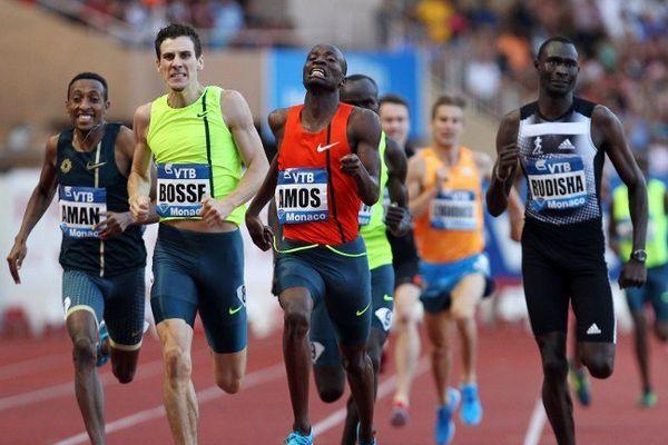 Pierre-Ambroise Bosse emporte le record du 800 mètres à Monaco.