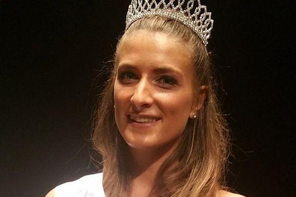 Daphné Bruman, 23 ans, a été élue mardi soir Miss Normandie 2016