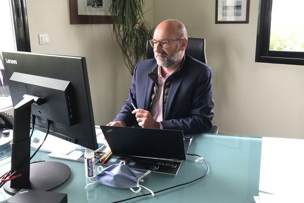 Ce cabinet comptable de Poitiers a remis en place, partiellement, le travail depuis les bureaux, après une longue période de télétravail