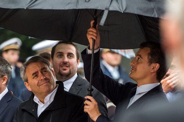 Gérald Darmanin (photographié ici en 2017) prendrait-il ses distances avec Xavier Bertrand, président du Conseil régional des Hauts-de-France ?