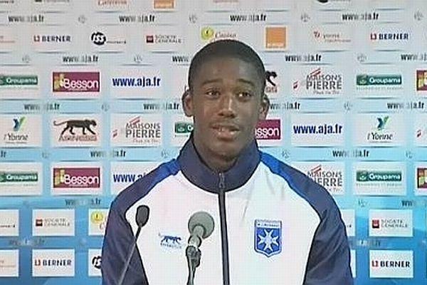 Yaya Sanogo, auteur du quadruplé lors de la 23e journée de Ligue 2.
