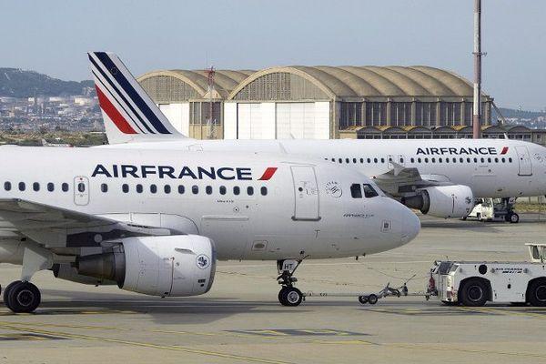 Beaucoup d'avions vont rester sur le tarmac de Marseille-Provence ce mercredi.