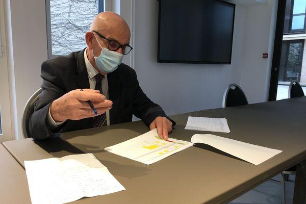 Yves KRATTINGER, le président du Conseil départemental de Haute-Saône alerte sur la situation dans les Ehpad