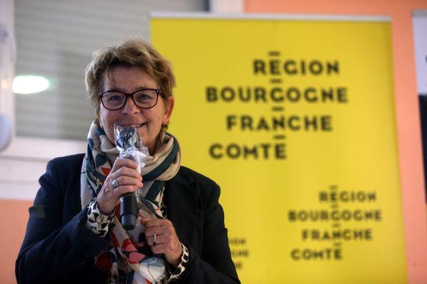 Marie-Guite Dufay, en octobre 2020.