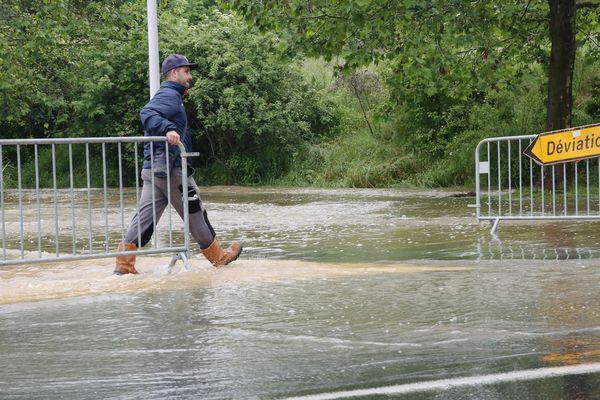 De nombreux villages de la Seine-et-Marne sont encore sous l'eau.