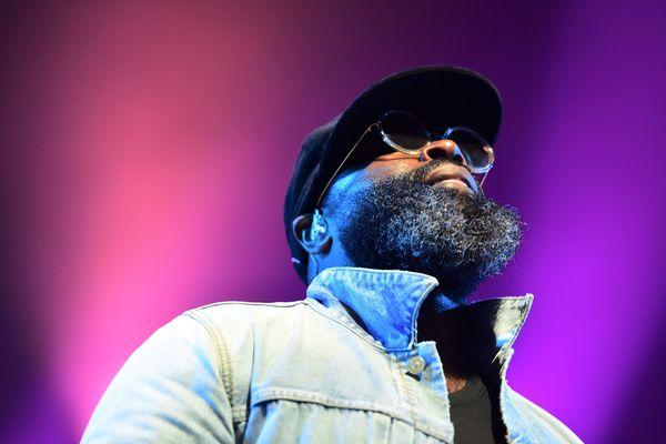 Black Thought, rappeur de The Roots aux Eurockéennes de Belfort 2019.