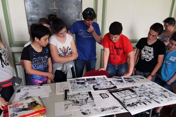 Après la Class'BD avec les écoliers, les auteurs sont en dédicace ce dimanche