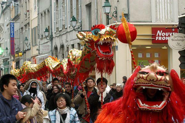 Le nouvel an chinois organisé chaque année à Montargis