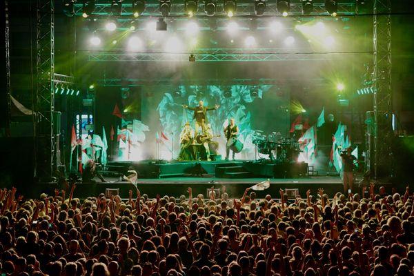 La scène du 20ème Festival Nuits du Sud à Vence.