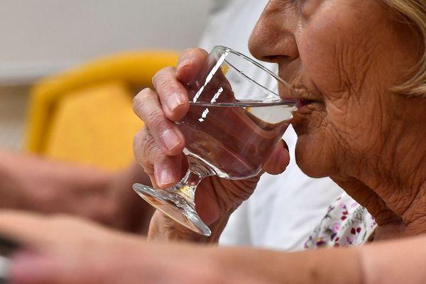 L'hydratation est primordiale en temps de forte chaleur. (image d'illustration)