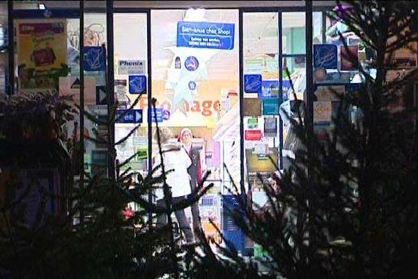 Le supermarché de Seebach ouvert très tôt ce jeudi matin