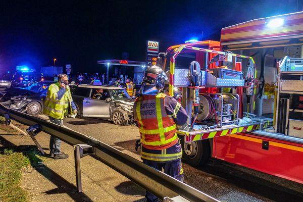 accident sur l'A35