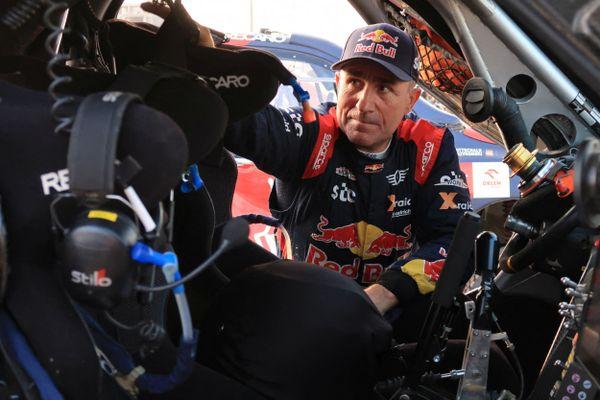 Stéphane Peterhansel vainqueur du Dakar 2021