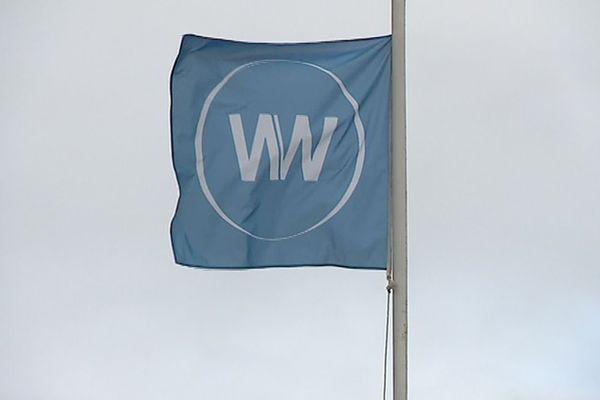 Le logo de la société WN, repreneur du site Whirlpool d'Amiens puis placée en redressement judiciaire en juin 2019