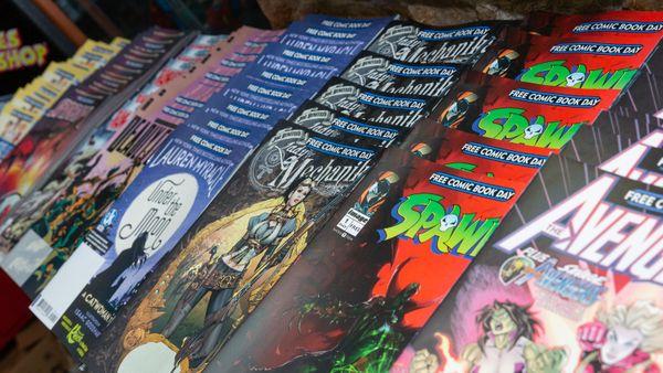 Des comics ont été édités spécialement pour le Free Comic Book Day
