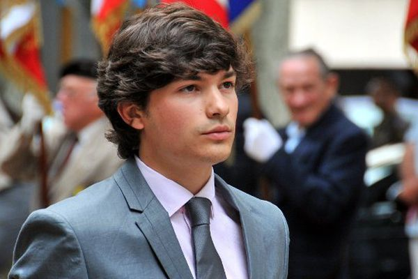 A 26 ans (photographié ici en 2012), Nicolas Brien est devenu le premier secrétaire fédéral du Parti Socialiste de l'Allier, le 11 juin 2015 en battant dès le premier tour Jean Mallot.