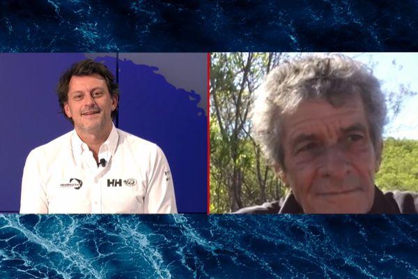 Christophe Auguin en direct dans le Vendée live du lundi 25 janvier