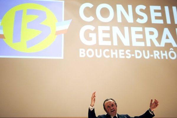 Le conseil général des Bouches-du-Rhône, présidé par Jean-Noël Guérini, au moins jusqu'en mars 2015