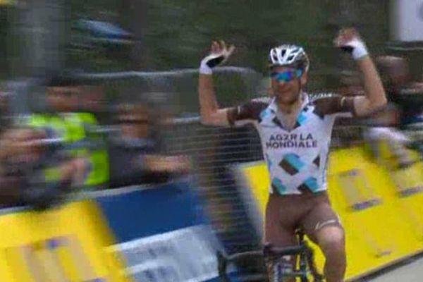 JC Péraud, vainqueur pour la deuxième fois consécutive du Critérium International