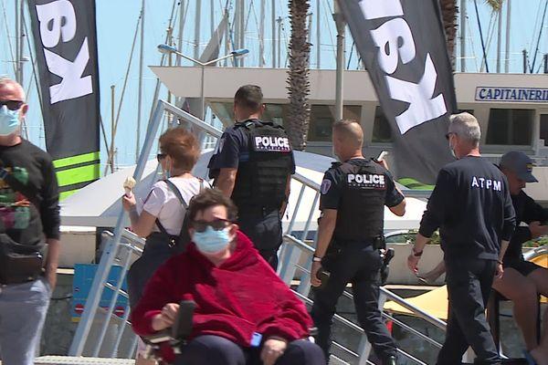 A Palavas-les-Flots, le maire a annoncé le renforcement des effectifs de police pour la saison 2021 - 26 mai 2021