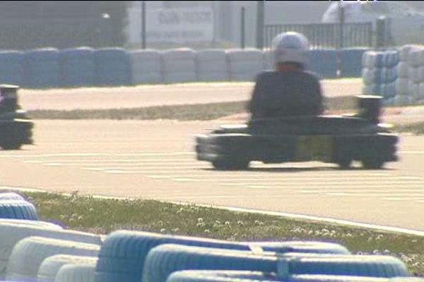 Karting à Prenois
