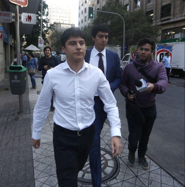 Nicolas Zepeda en février 2017 au Chili.