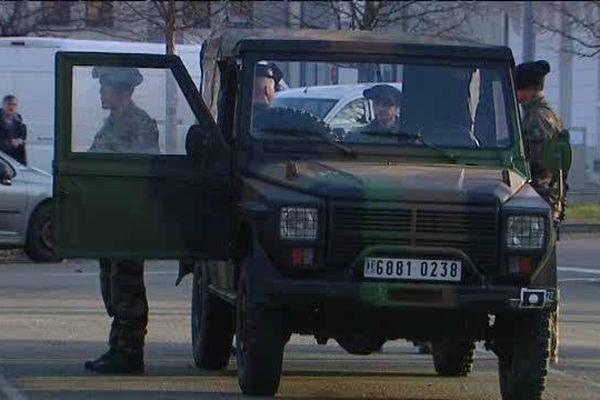600 militaires seraient stationnés dans la seule agglomération lyonnaise.