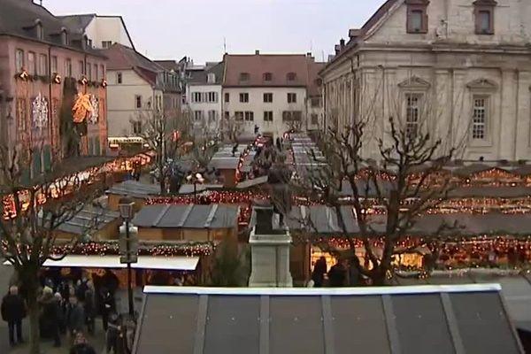 Le marché de Noël a animé pendant un mois le centre ville de Montbéliard