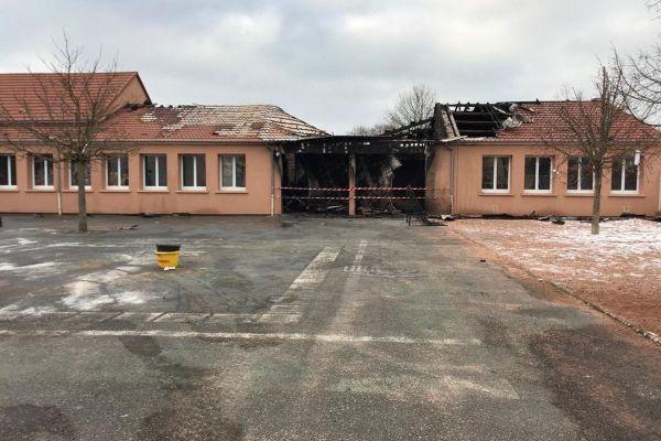 Un incendie s'est déclaré dans la soirée du samedi 9 janvier à Molles dans l'Allier