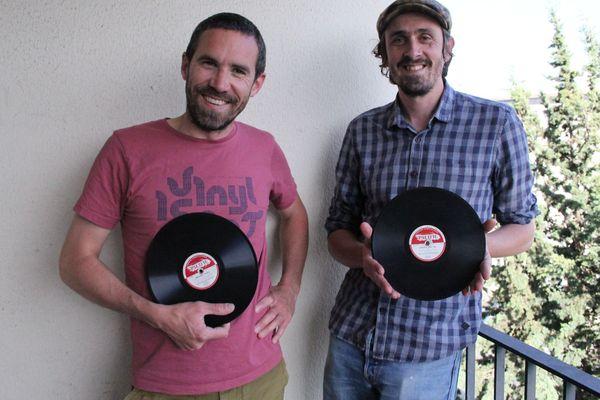 Guillaume Michelet et Lionel Besnard veulent faire revivre l'esprit du jazz du Hot Club de Rennes en pressant un disque-livre