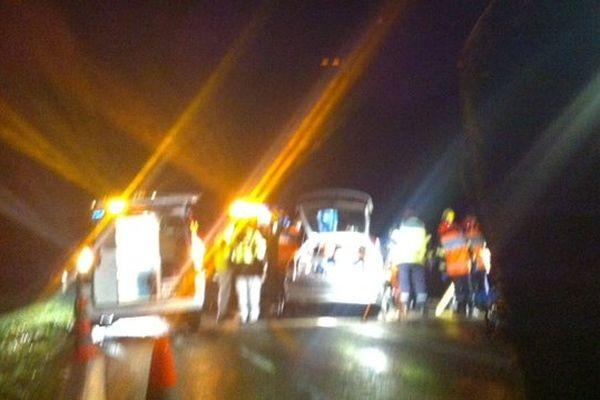 Accident de la circulation à Château-Salins